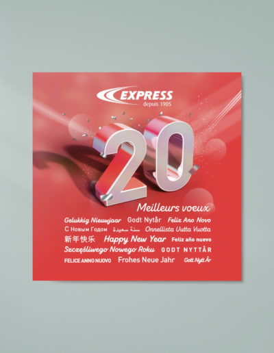 Voeux Express 2020